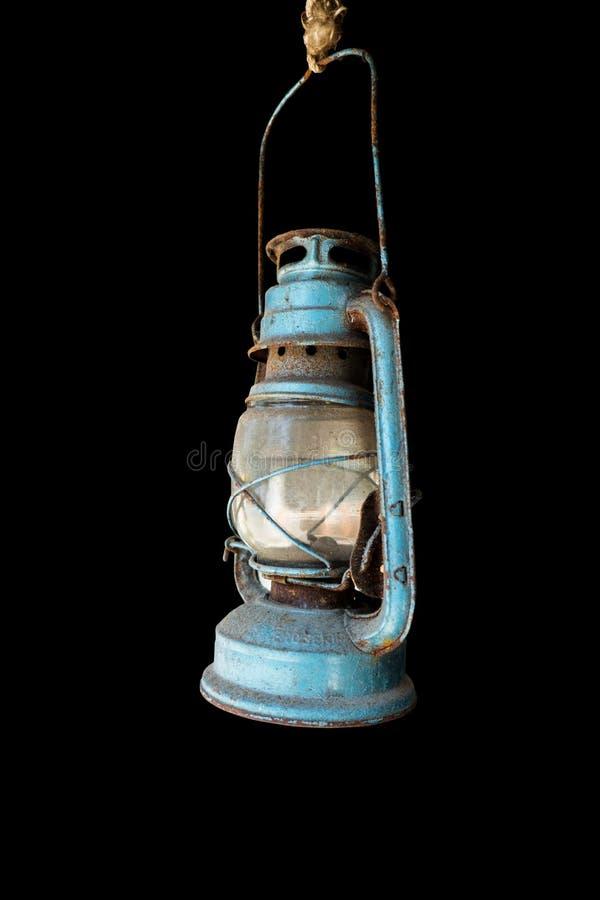 nafty lampa sporadycznie wciąż używać obraz stock
