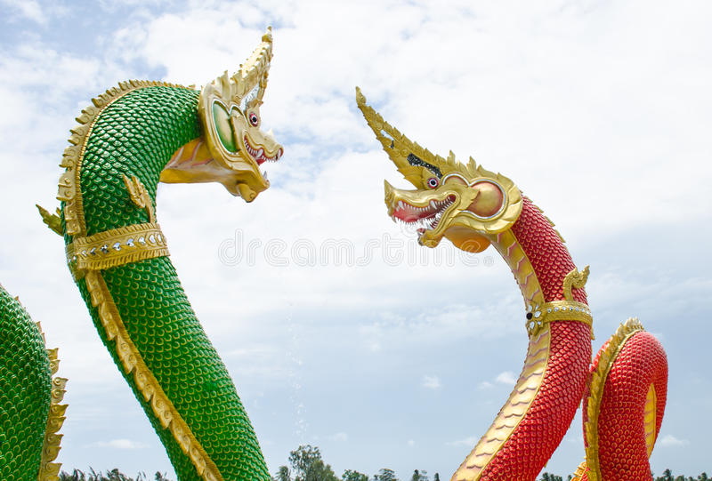 Naga royaltyfri bild
