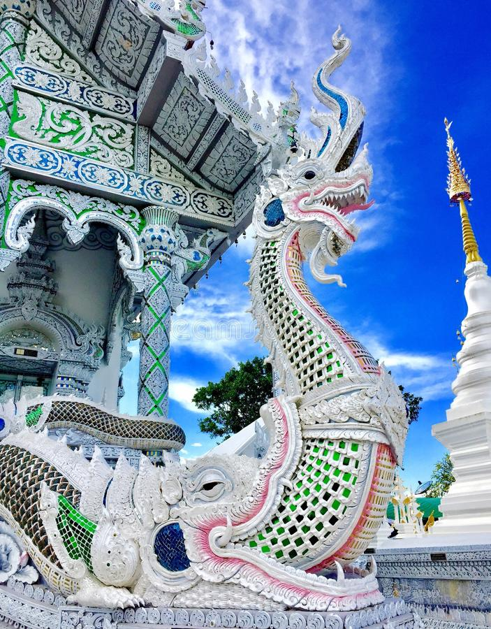 Naga con nimbus fotografia stock libera da diritti