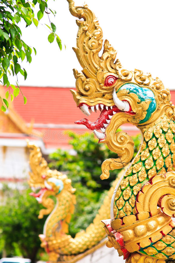 Download Naga head statue stock photo. Image of decorate, decoration - 16521548