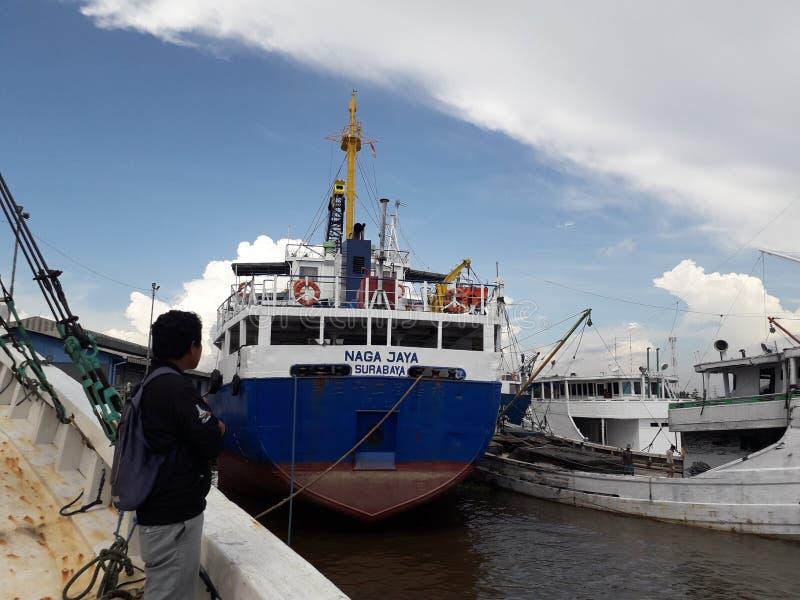 Naga Jaya Surabaya Ship image stock