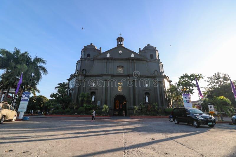 Naga Metropolitan Cathedral. NAGA CITY, CAMARINES SUR / PHILIPPINES - MARCH 4, 2019: The Naga Metropolitan Cathedral stock images