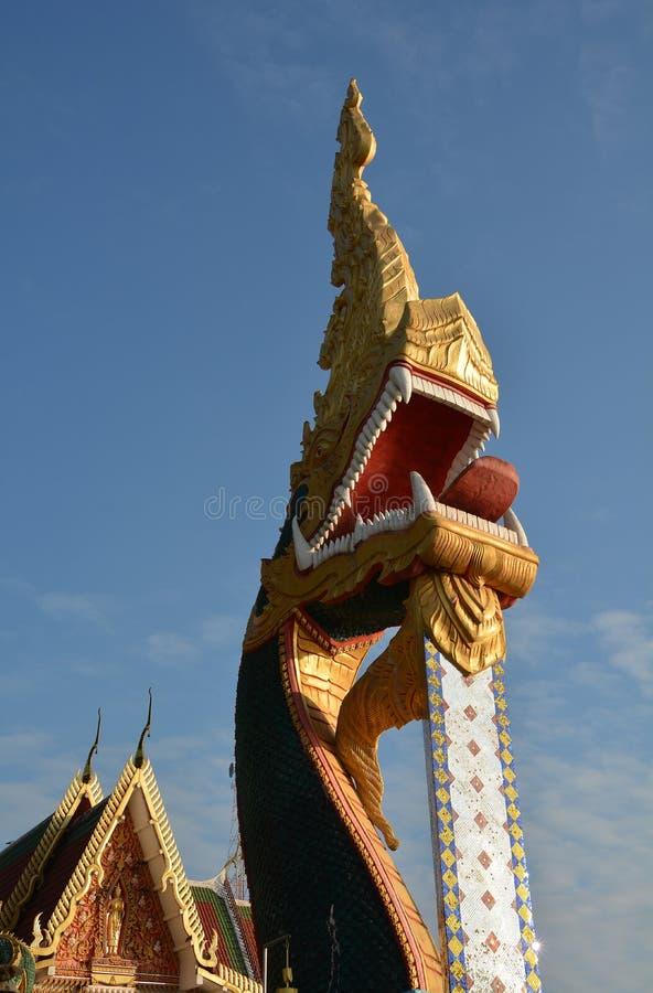 Naga mit Glauben an Buddhismus lizenzfreie stockbilder