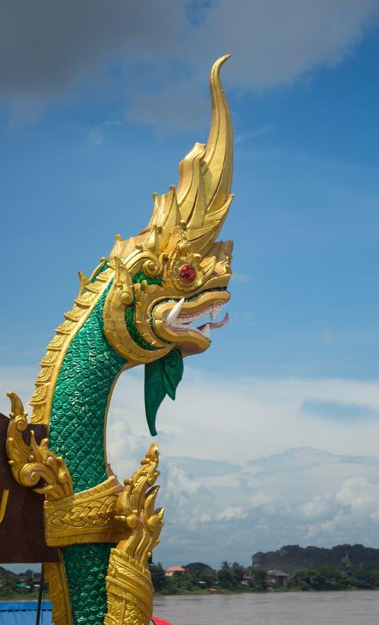 Naga na nieba tle w Tajlandia zdjęcie stock