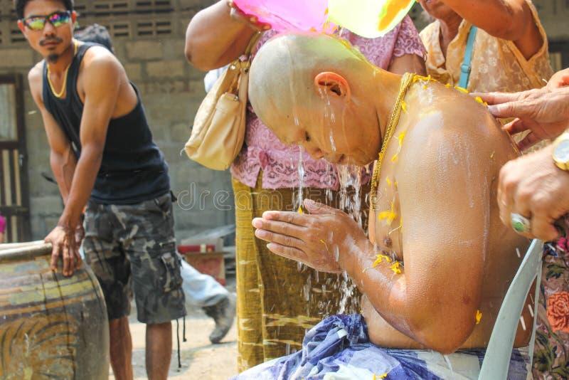 Naga prysznic zdjęcie royalty free