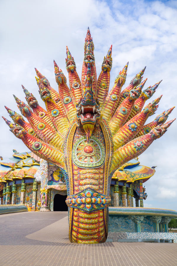Naga rzeźba dekorował z oszkloną płytką zdjęcie stock