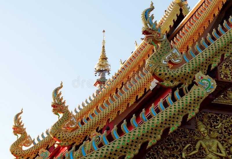 Naga Serpent Statues国王 库存照片
