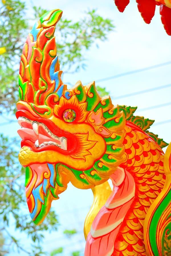 Naga statua obrazy royalty free