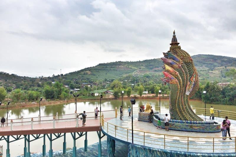 Naga tailandês fotos de stock