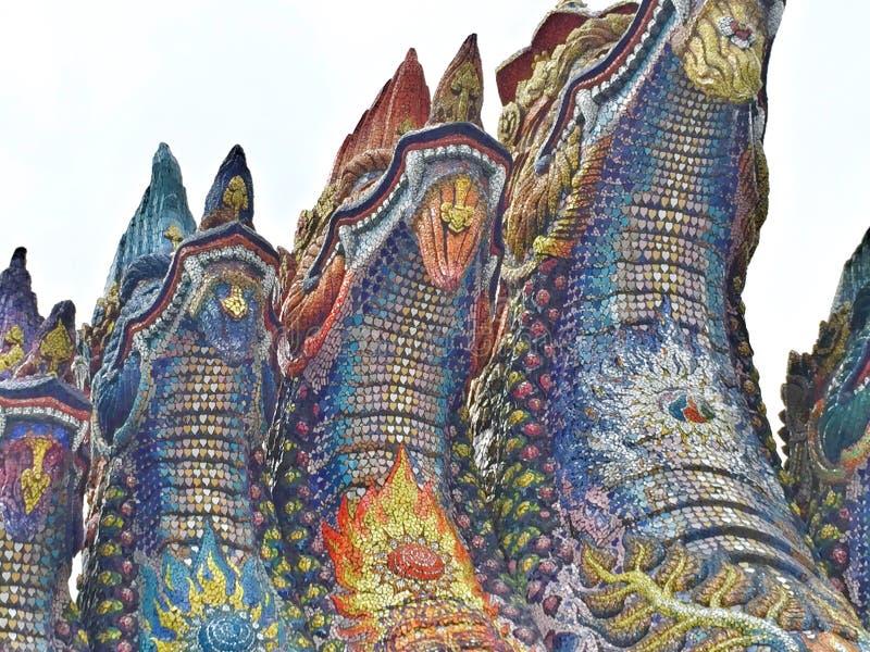 Naga tailandês fotos de stock royalty free