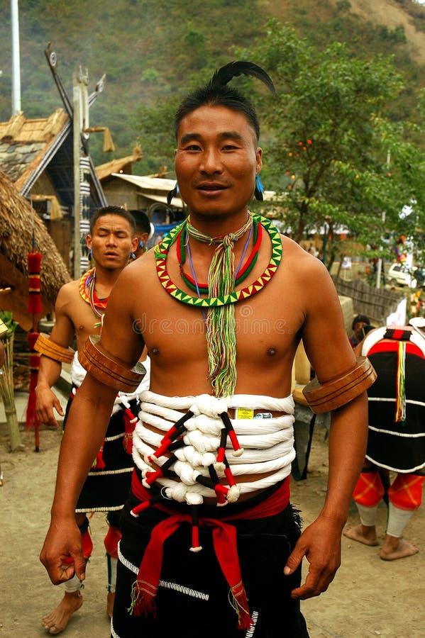 nagaland Индии hornbill празднества стоковые изображения rf