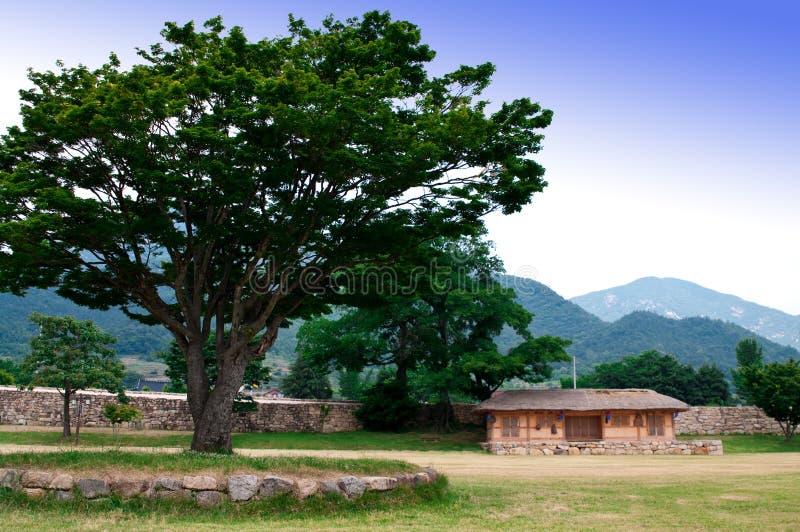 Nagan Volk-Dorf stockfoto