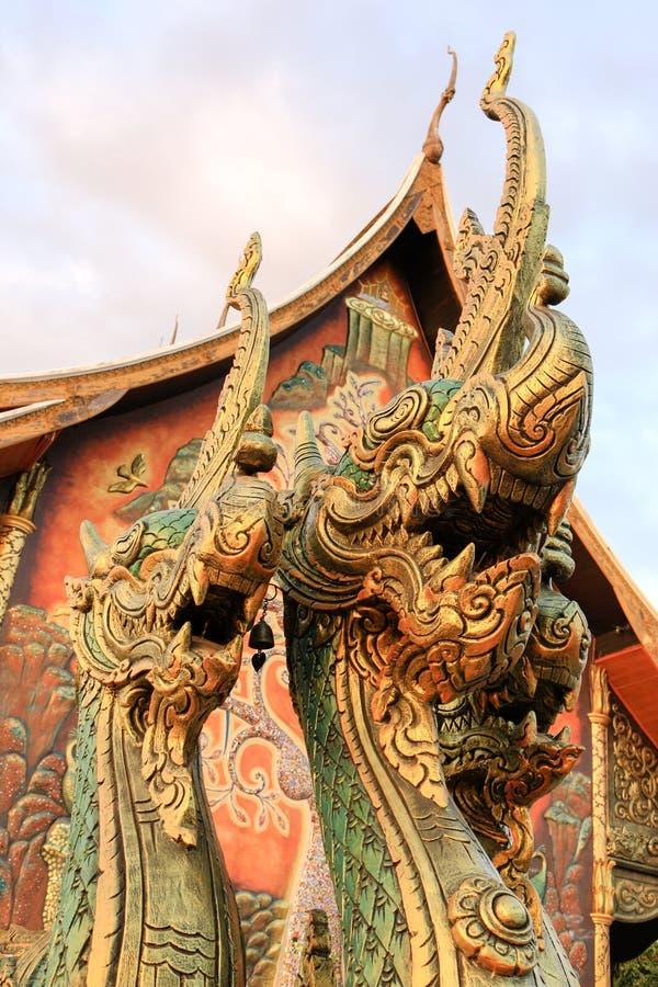 Nagas de Siam imagen de archivo libre de regalías