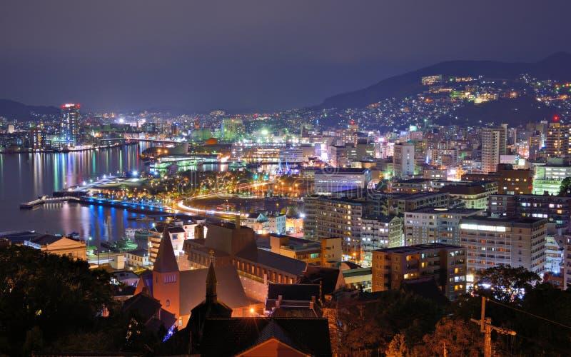 Nagasaki imagenes de archivo