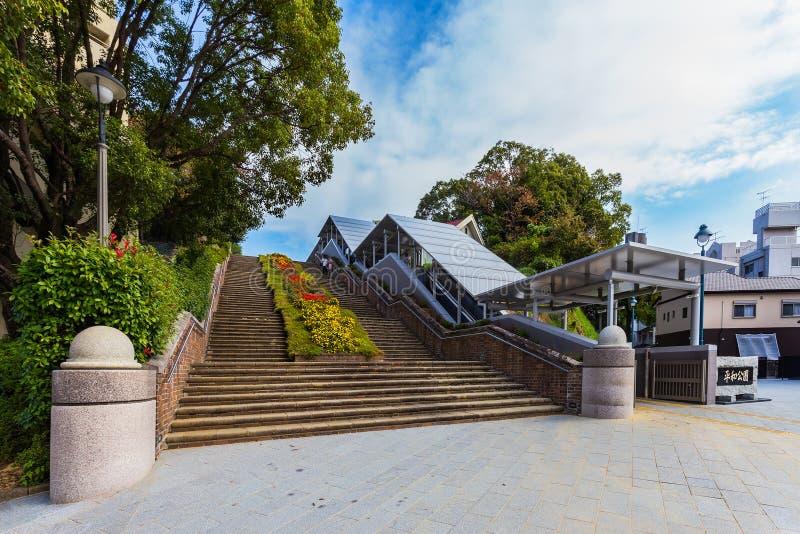 Nagasaki-Friedenspark lizenzfreies stockfoto