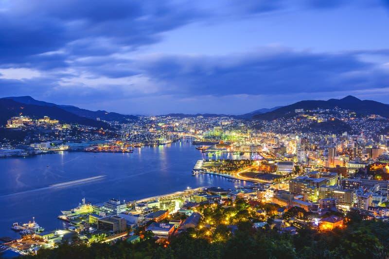 Nagasaki, Japão imagens de stock royalty free