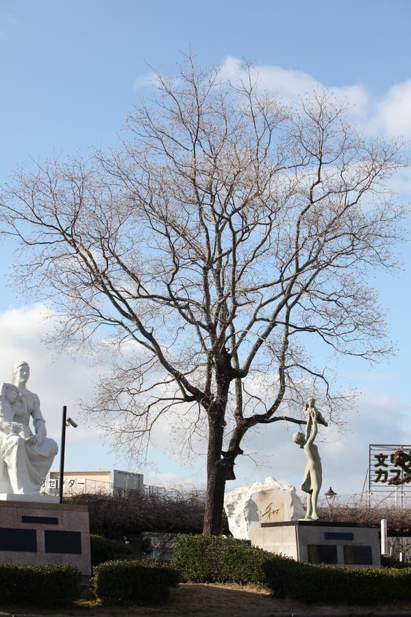 Nagasaki pokoju park zdjęcie stock