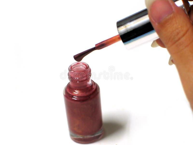 Download Nagellack stockfoto. Bild von pinsel, namen, finger, poliermittel - 44100