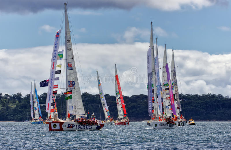 Nagelsax i Sydney till Hobart royaltyfri fotografi