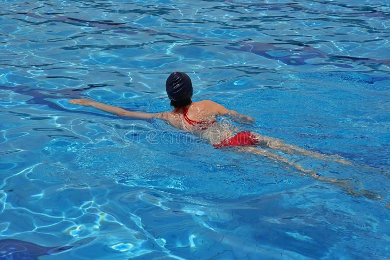 nageur photo libre de droits