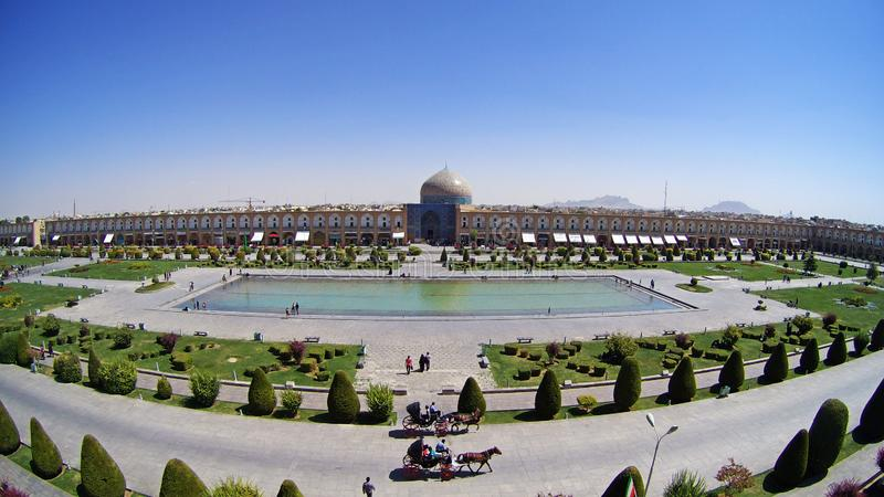Naghsh-e Jahan Square in Isfahan Iran stock fotografie