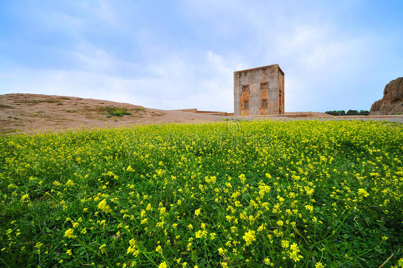NAGHSH-E ROSTAM, Chiraz, Iran photo stock