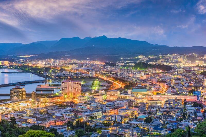 Nago, Okinawa, Japón fotografía de archivo libre de regalías