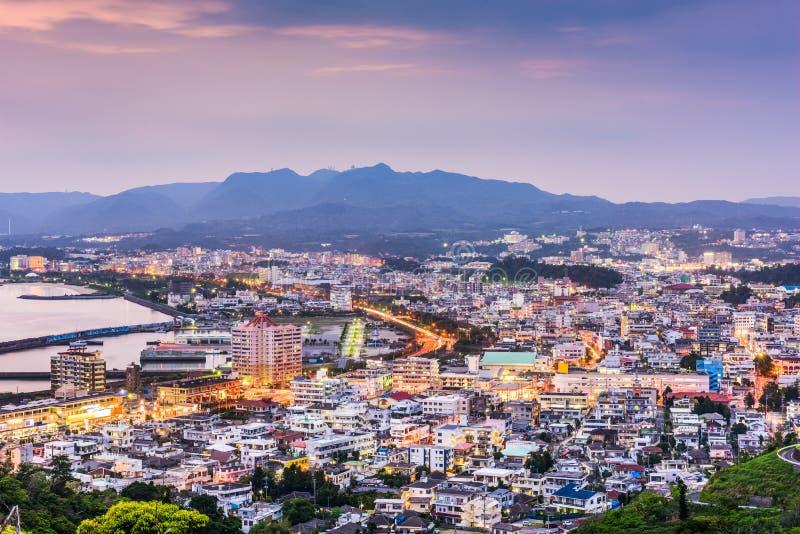 Nago, Okinawa, Japan stock afbeelding