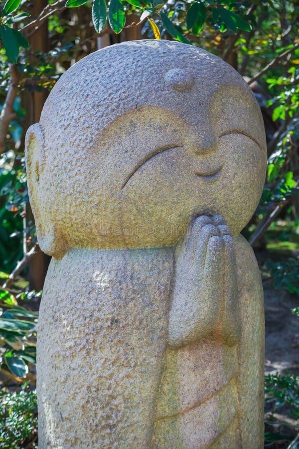 Nagomi Jizo At Hase-dera Temple in kamakura. Japan royalty free stock photography
