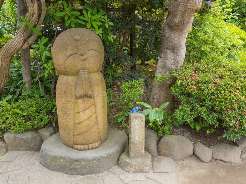 Nagomi Jizo. At Hasedera temple in Kamakura, Kanagawa, Japan stock photography