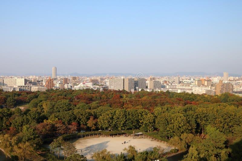 Nagoya Aerial View 1 stock photography