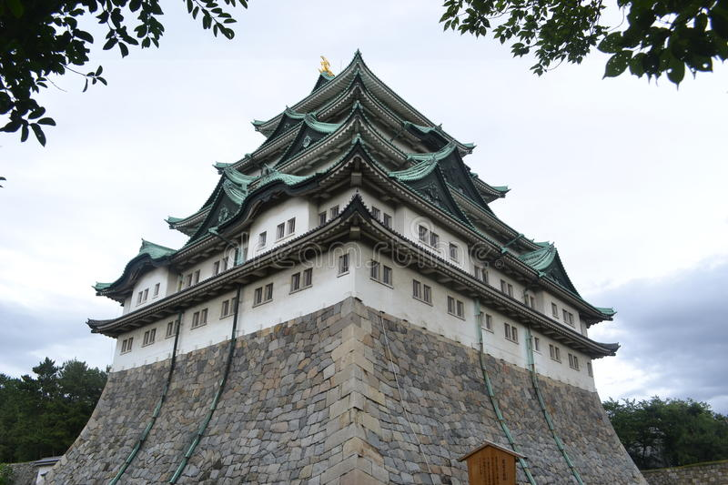 Nagoya castle aichi japan. Afternoon time royalty free stock photography