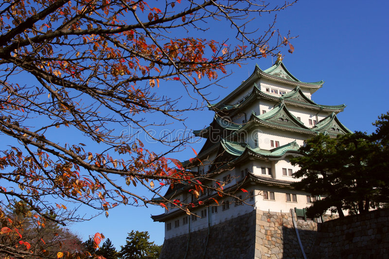 Nagoya Castle of Japan. Nagoya city of Japan,Photo by Toneimage of China,a photographer live in Beijing royalty free stock photos