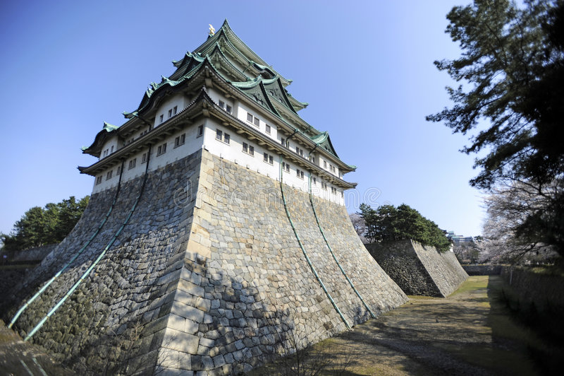 Nagoya Castle, Japan stock photography