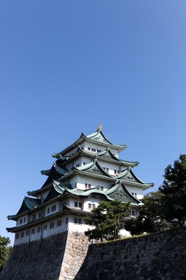Nagoya castle, Japan. Nagoya castle in Nagoya city.,Japan royalty free stock image