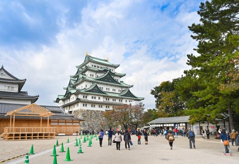 Nagoya castle, Nagoya, Japan arkivbilder