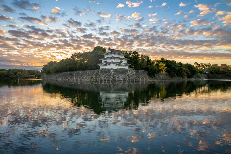 Nagoya Castle, a Japanese castle in Nagoya, Japan. During the Edo period, Nagoya Castle was the heart of one of the most important castle towns in Japan stock images
