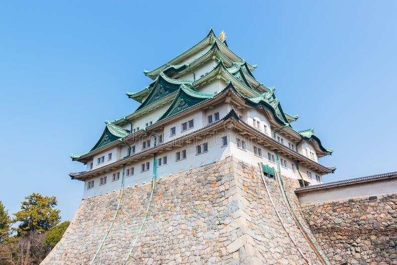Nagoya castle landmark in nagoya japan. royalty free stock image