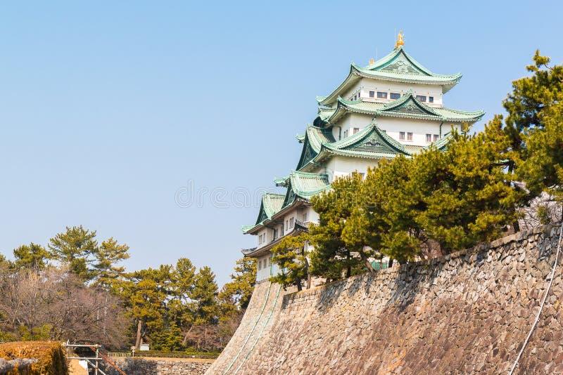Nagoya castle landmark in nagoya japan. Nagoya castle historic landmark in nagoya japan stock image