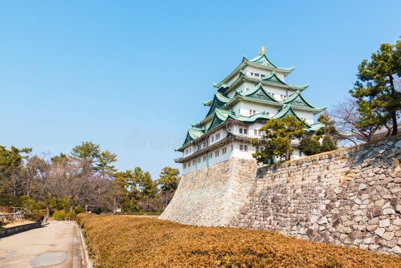 Nagoya castle landmark in nagoya japan. Nagoya castle historic landmark in nagoya japan royalty free stock images