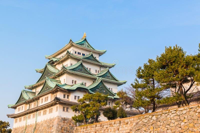 Nagoya castle landmark in nagoya japan. Nagoya castle historic landmark in nagoya japan stock images