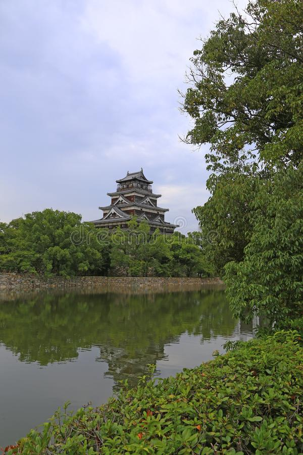 Nagoya Castle in Nagoya, Japan royalty free stock image