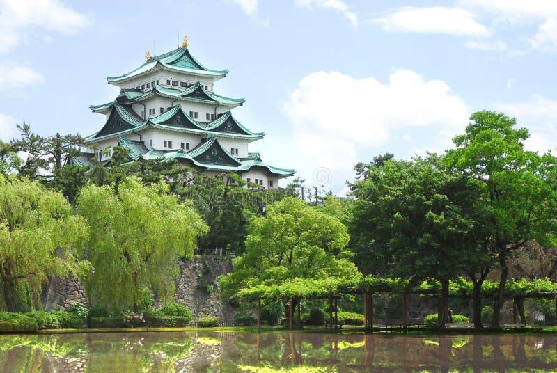 Nagoya Castle in Nagoya, Japan Travel stock image