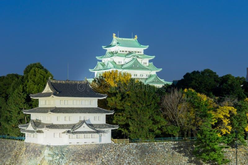 Nagoya Castle at Night - Japan. Nagoya Castle at Night ,Japan stock image