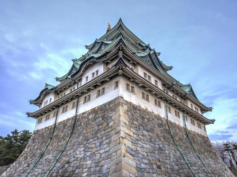 Nagoya Castle 4 stock image