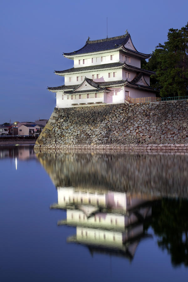 Nagoya Castle turret, Japan stock photo