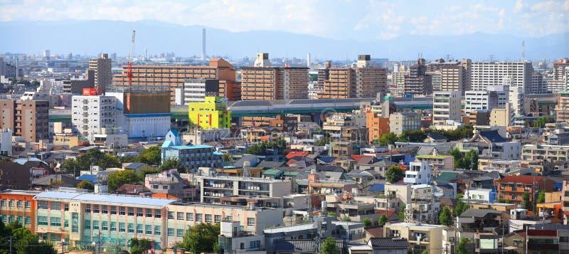 Nagoya city in Japan stock images