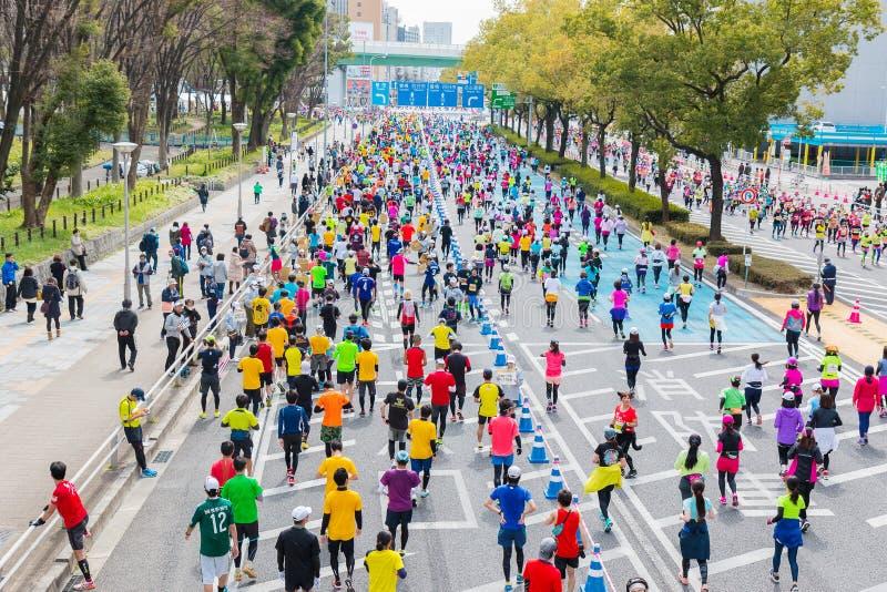 Nagoya City Marathon 2016 stock photography