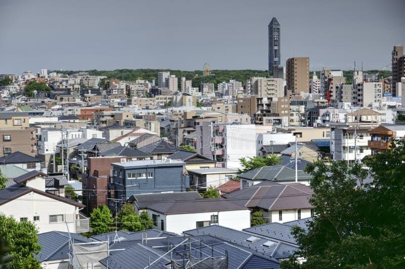 Nagoya, Higashiyama oddział, Japonia obraz stock