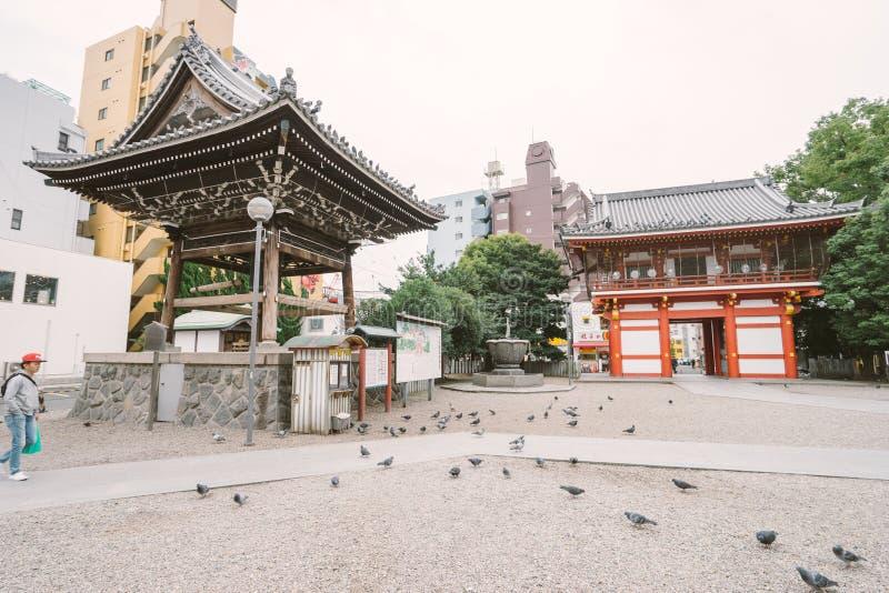 NAGOYA, JAPÃO - 21 DE NOVEMBRO DE 2016: Templo de Osu Kannon em Nagoya imagem de stock royalty free